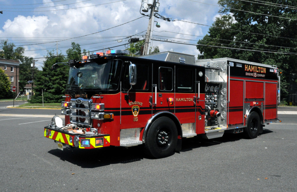 Hamilton Township, NJ, Puts New Engine, Built by Pierce, in