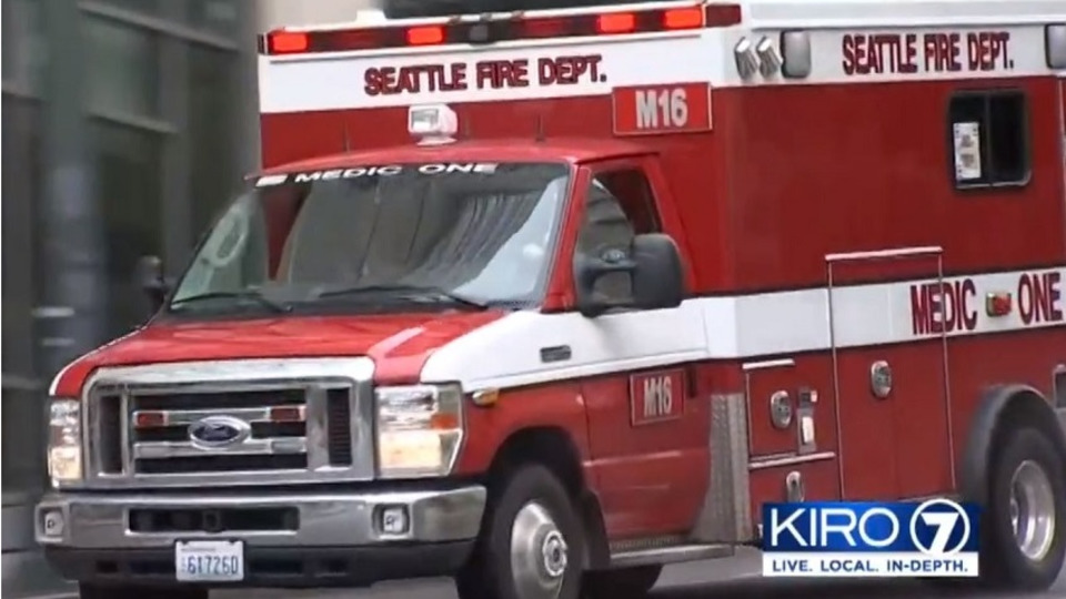 Seattle Fire Department Contingency Plan AMR Ambulance