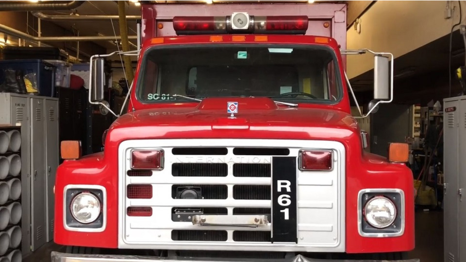 Central Pierce Fire Rescue Retiring Rig Beer Delivery Truck