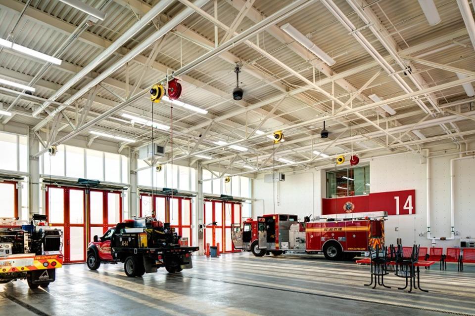 Fire Station Plans Photos Salt Lake City Ut Station 14