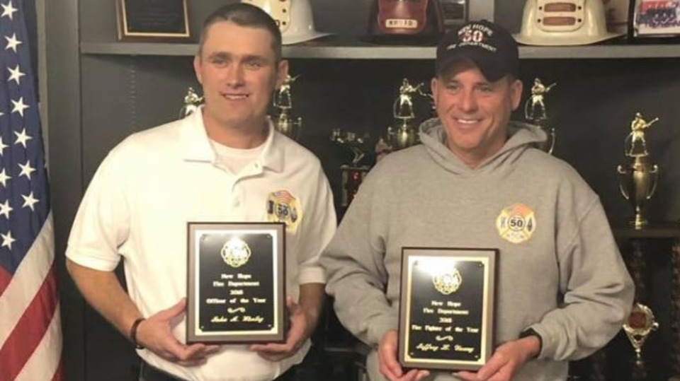 New Hope NC Firefighter Honored One Year After Nearly Dying