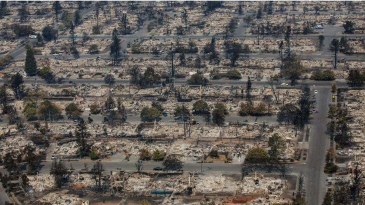 Cal Fire Private Electrical System Sparked Santa Rosa Ca Fire