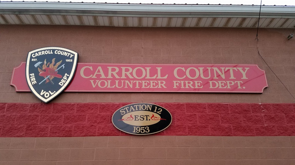 Carroll County OH Firefighters Leaving County-Owned Building