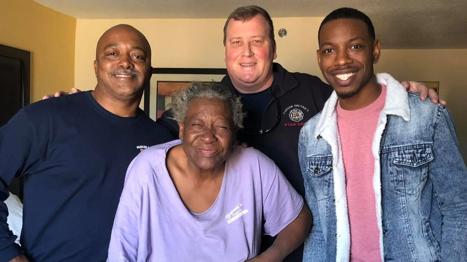 Parker District SC Firefighters Help Homeless Woman a Second Time