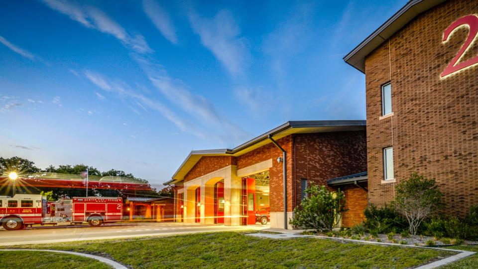 Denton Tx Fire Station No 2 Gold Design 2018 Award