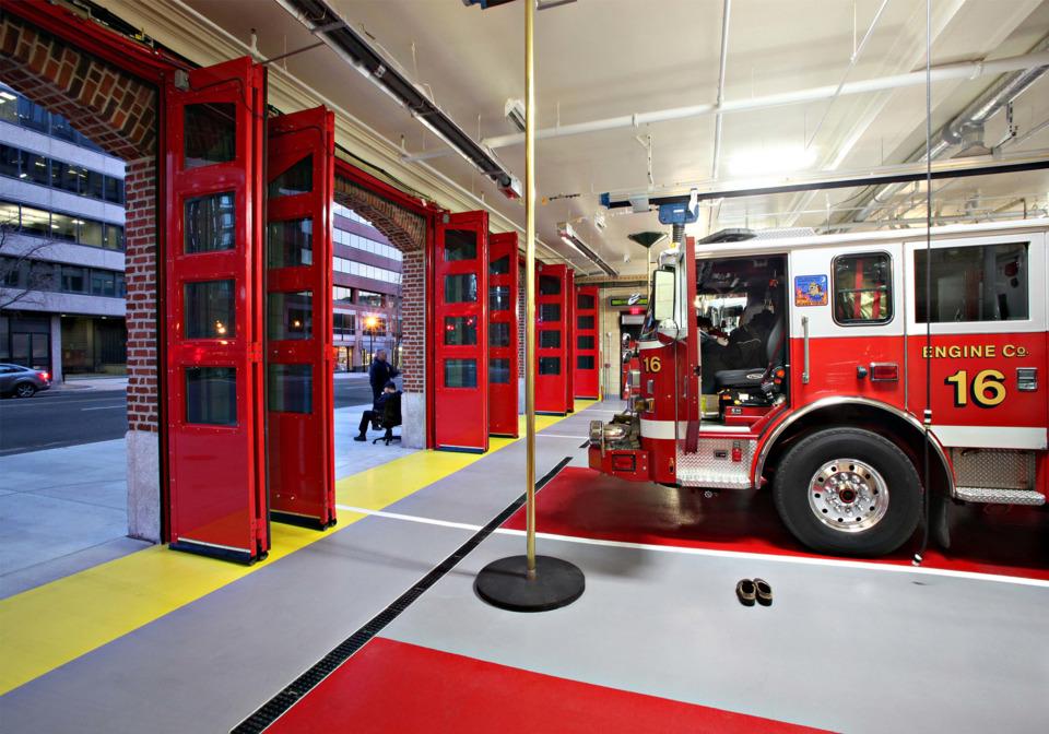 Engine Co 16 Washington Dc Fire Ems Renovation Design Award