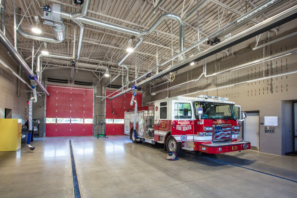 Oklahoma City Fire Department Uses Prototype Stations To