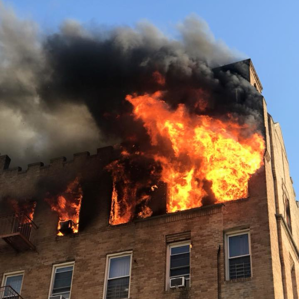 Sunset Park Apartments: Six-Alarm Blaze Injures 22 FDNY Firefighters