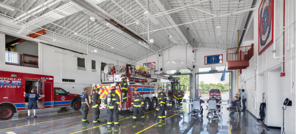 Plainfield In Fire Territory Fire Station No 122 2018