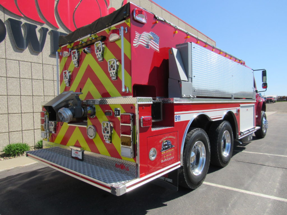 Rome Fire District Sullivan Wi Puts Big Tanker Built