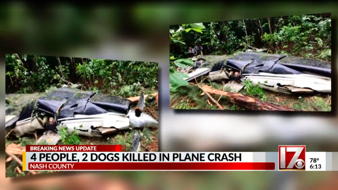 Four Confirmed Dead in NC Plane Crash
