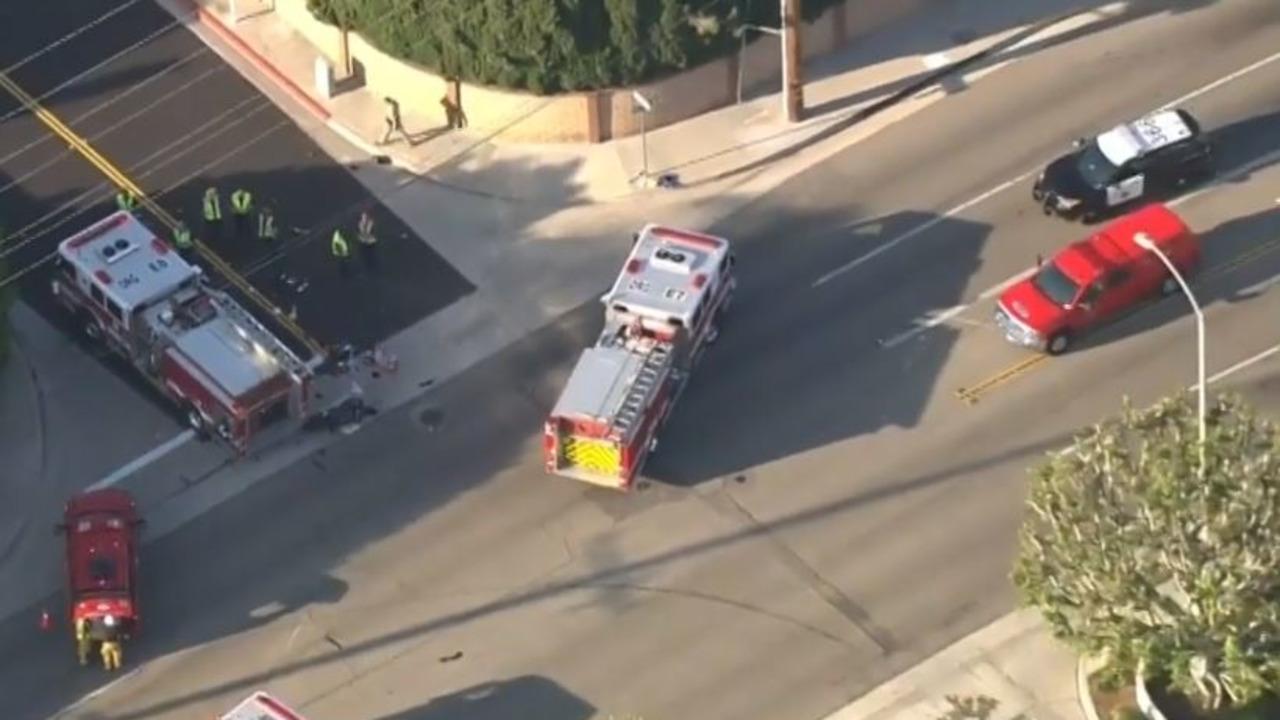 Three Orange CA Firefighters Hurt in Fatal Motorcycle Crash