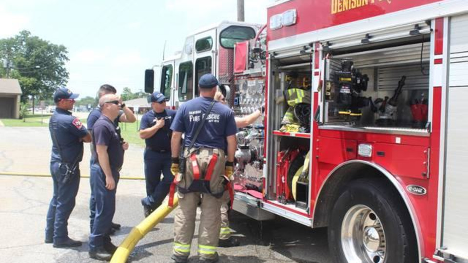 Sherman TX Firefighter Lives His Dream: 'I Pretty Much Eat