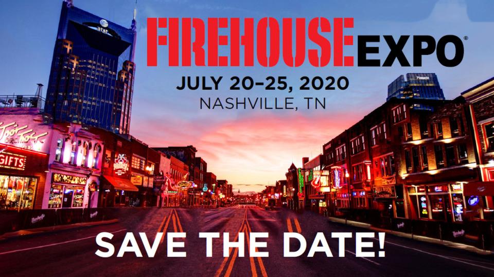 Nashville Fair 2020.Firehouse Expo 2020 Dates Announced Firefighter Training