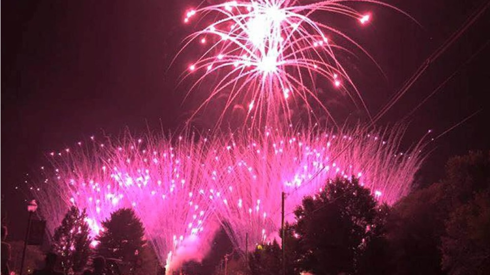 Orrville OH Firefighters Take Pride in Fireworks Display