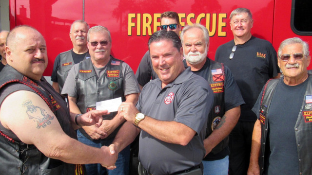 Flagler County FL Motorcycle Club Donates $2K for