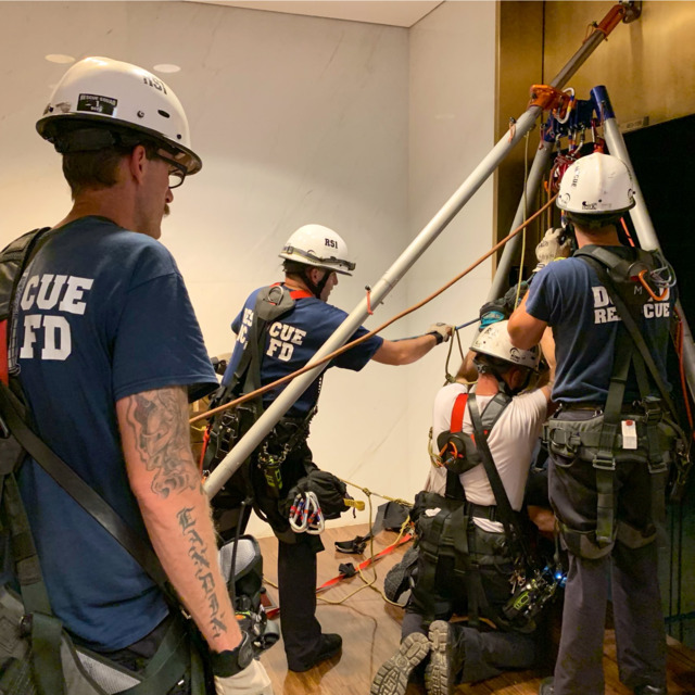 Watch Washington DC Firefighters Make Kennedy Center