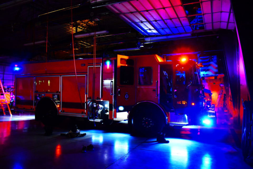 Tomar Revolution Series Lighting Elko Nv Fire Engine