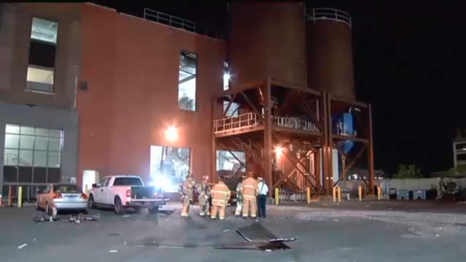 Blast at Water Treatment Plant Injures Three Workers