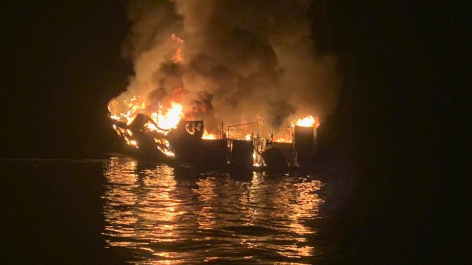Officials: Ventura County CA Dive Boat Fire 'Worst-Case