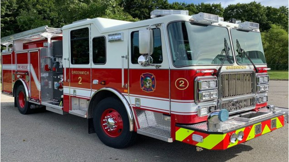 Seagrave Fire Apparatus >> Greenwich Ct Fire Department Fire Truck Delivery