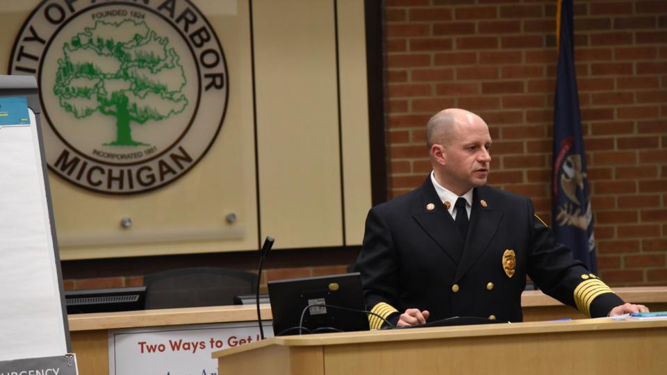 Ann Arbor Mi Fire Chief Add Ambulance To Fd S Fleet To
