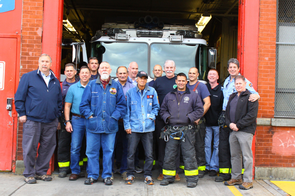 FDNY Rescue 2 Hosts `Last Tour` Before Move...