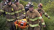 New York State Firefighters Rescue Three After Car Accident