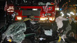 Two Dead as Car Runs Red Light, Crashes with Responding Florida Fire Truck