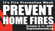 NFPA's Take: Fire Prevention Week 2008