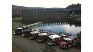 Truck 100, Engine 102, Engine-Tanker 205, Engine-Rescue 203,Engine 302, Tanker 315