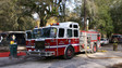 Mobile Home Burns in Florida