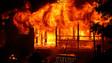 Blaze Destroys California Duplex