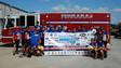 Brotherhood Ride Stops at Ferrara Fire Apparatus