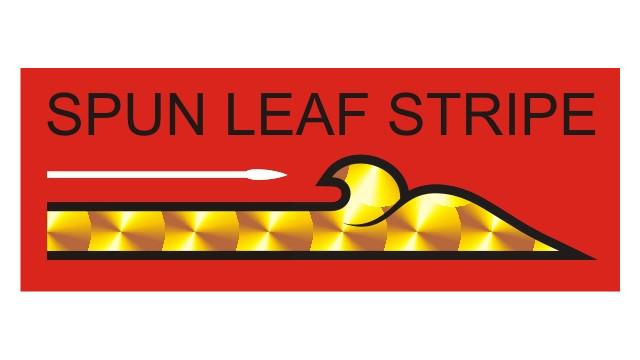 Spun Leaf Striping