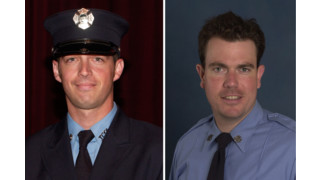 FDNY Lt. JonPaul Augier and Firefighter Joseph Jurgens