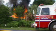 Ocala Fire Rescue Responds to Fire in Vacant House