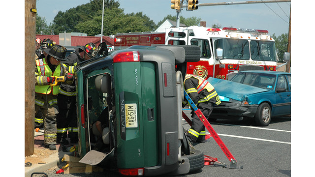 n j responders cover two car crash firehouse