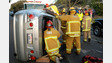 Santa Maria City, Calif. Firefighters Extricate Driver