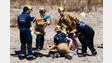 Santa Barbara Crews Handle Dirt Bike Wreck