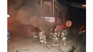 Wall Collapse: Injures Detroit Firefighters At Second-Alarm Fire