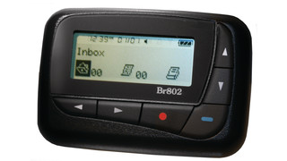 BR802 4-Line Alphanumeric Pager