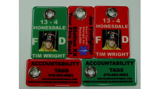 Epoxy Domed Accountability Tags