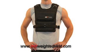 MiR 45Lbs Air Flow Adjustable Weighted Vest