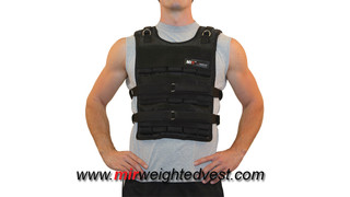 MiR Pro 75Lbs Adjustable Weighted Vest