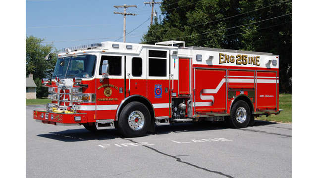 This 2010 Pierce Arrow XT PUC pumper is equipped with a 1,500-gpm pump ...