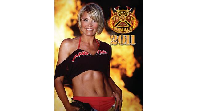 2011 America's Female Firefighters Calendar
