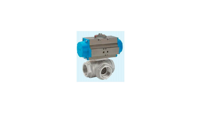 Air Operated Ball Valve