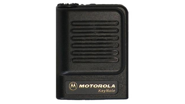 Keynote Voice Pager