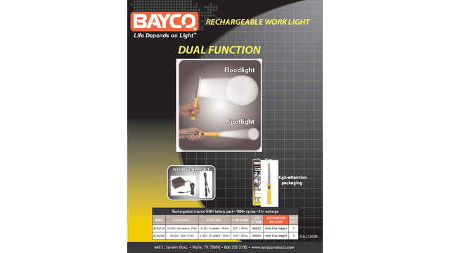 RECHARGABLE WORKLIGHTS LED.pdf
